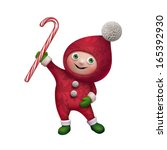 Cute Funny Christmas Elf...