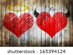 Valentines Day Background Wih...