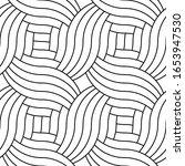 decorative wavy geometric...   Shutterstock .eps vector #1653947530
