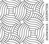 decorative wavy geometric...   Shutterstock .eps vector #1653947536