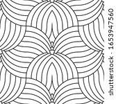 decorative repeating geometric... | Shutterstock .eps vector #1653947560