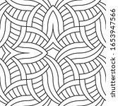 vector seamless geometric... | Shutterstock .eps vector #1653947566
