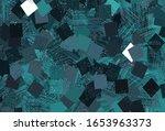 light blue  green vector... | Shutterstock .eps vector #1653963373