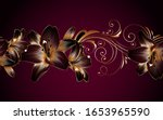 vintage luxury seamless floral... | Shutterstock .eps vector #1653965590