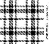 seamless tartan pattern | Shutterstock .eps vector #165397814