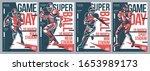 retro american football flyer... | Shutterstock .eps vector #1653989173