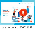 landing page vector design for...
