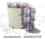 Bim Project Of An Industrial...