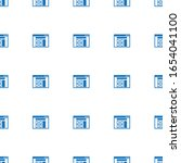 wireframe icon pattern seamless ...