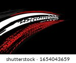 vector automotive banners... | Shutterstock .eps vector #1654043659