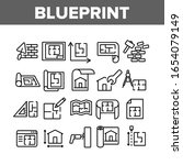 blueprint architecture... | Shutterstock .eps vector #1654079149
