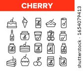 cherry vitamin berry collection ... | Shutterstock .eps vector #1654079413
