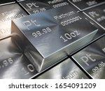 Platinum Bars Or Ingots...