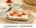 Wholewheat Bread Spread With...