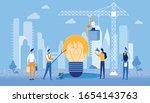 bright flyer creative staining... | Shutterstock .eps vector #1654143763