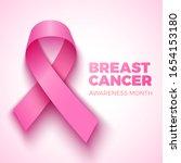 breast cancer awareness month... | Shutterstock .eps vector #1654153180