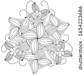 coloring page for fun and...   Shutterstock .eps vector #1654223686