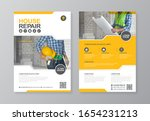 corporate construction tools... | Shutterstock .eps vector #1654231213