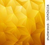 Abstract Yellow Triangle...