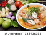 Tom Yum Goong Spicy Soup With...