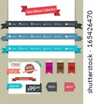 web design ribbon collection