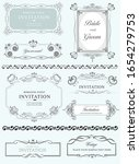 big collection of ornate vector ... | Shutterstock .eps vector #1654279753