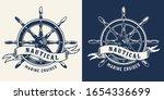 vintage marine cruise... | Shutterstock .eps vector #1654336699