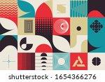 retro future inspired artwork... | Shutterstock .eps vector #1654366276