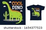 Cool Green Dinosaur Design...