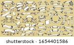 set of ribbons. vintage banners ... | Shutterstock .eps vector #1654401586