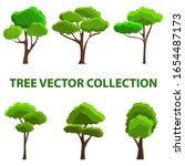 tree vector illustration. can...   Shutterstock .eps vector #1654487173