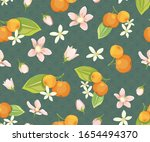 seamless pattern with... | Shutterstock .eps vector #1654494370