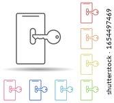 key to smart phone in multi...