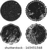 set of grunge stamp  | Shutterstock .eps vector #165451568