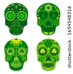 vector collection of mexican...   Shutterstock .eps vector #1654548316