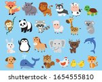 cute animals full collection set