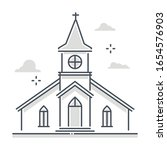 religious building related... | Shutterstock .eps vector #1654576903