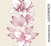 seamless floral pattern with... | Shutterstock .eps vector #1654584829