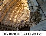 Notre Dame De Reims. France.the ...