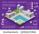 isometric city map industry... | Shutterstock .eps vector #1654615306