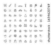 outline web line vector icon... | Shutterstock .eps vector #1654620769