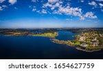 Aerial View Of Windermere Lake...