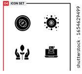 4 general icons for website... | Shutterstock .eps vector #1654629499
