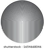 halftone design element. vector ... | Shutterstock .eps vector #1654668046