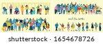 vector illustration in a flat... | Shutterstock .eps vector #1654678726