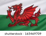 the flag of wales in the united ...