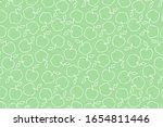 vector summer pattern with... | Shutterstock .eps vector #1654811446