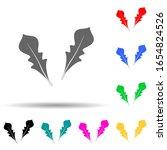 rukola multi color style icon....