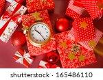 Christmas  Big Red Gift Box...