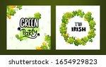 set of background designs for... | Shutterstock .eps vector #1654929823